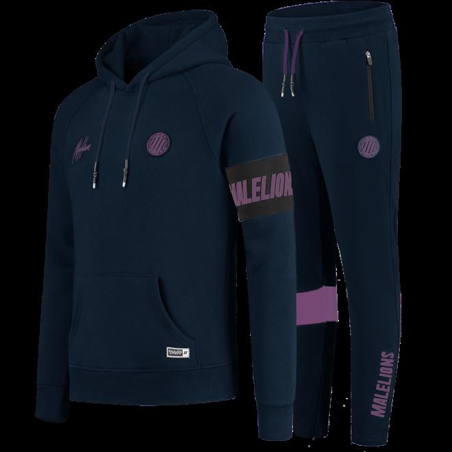 Malelions | Sport Captain Tracksuit Blue / Purple