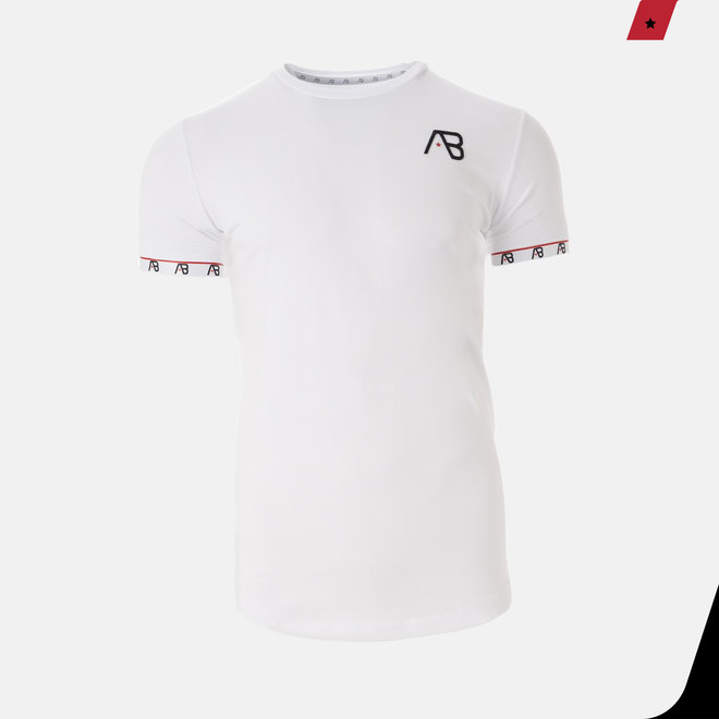 AB Lifestyle | Flag Tee White
