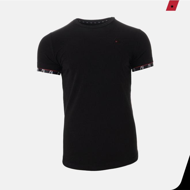 AB Lifestyle   Zwart t-shirt met logo