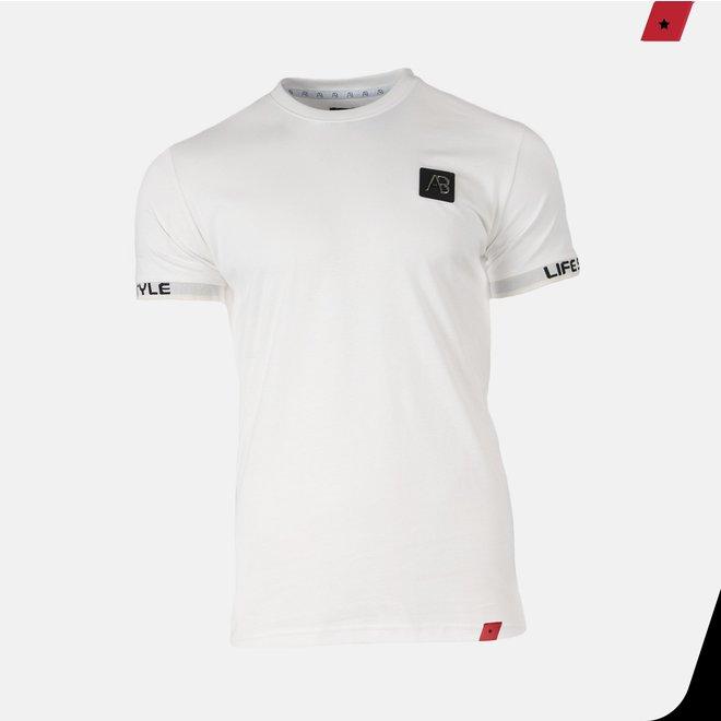 AB Lifestyle | Luigi Tee Off White