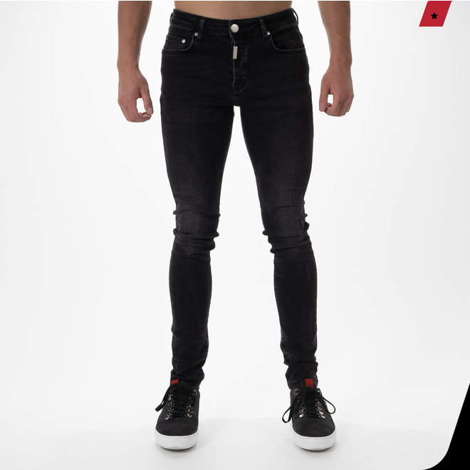 AB Lifestyle | Basic Stretch Jeans Black
