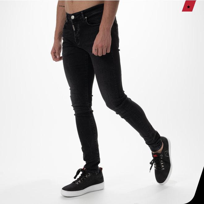 AB Lifestyle | Zwarte stretch jeans