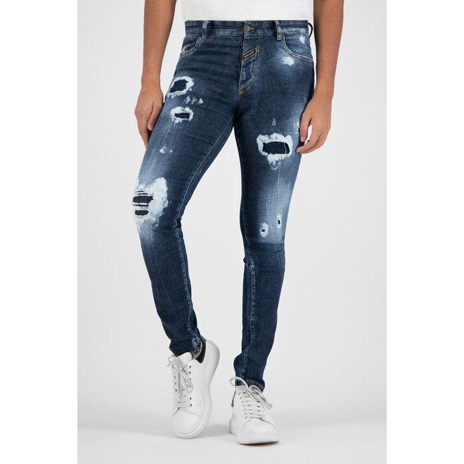Boragio | Jeans 7640 | Blue