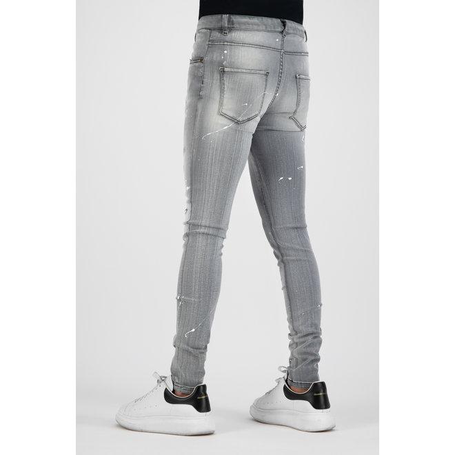 Boragio | Jeans 7641 | Grijs