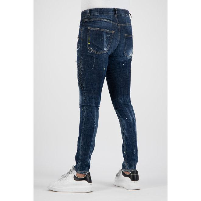 Boragio | Jeans blauw 7636