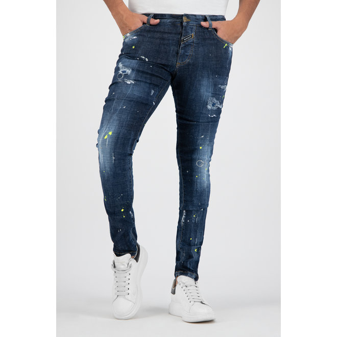 Boragio | Jeans 7656 | Blue