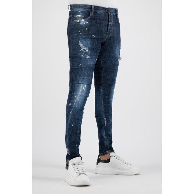 Boragio | Jeans Blauw 7656