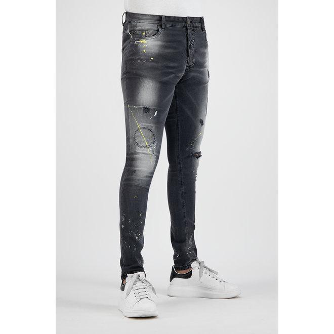 Boragio | Jeans 7648 | Grijs
