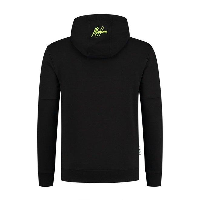 Perception Hoodie | Zwart & Neon Geel | Malelions