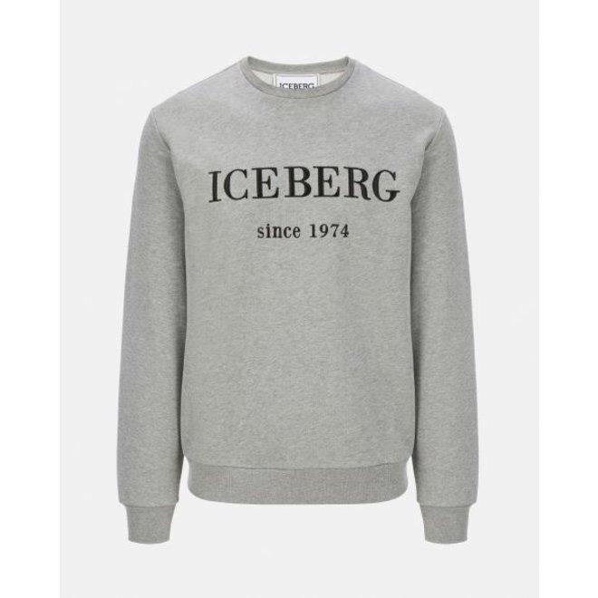 Classic gray marl Iceberg sweater | Grijs