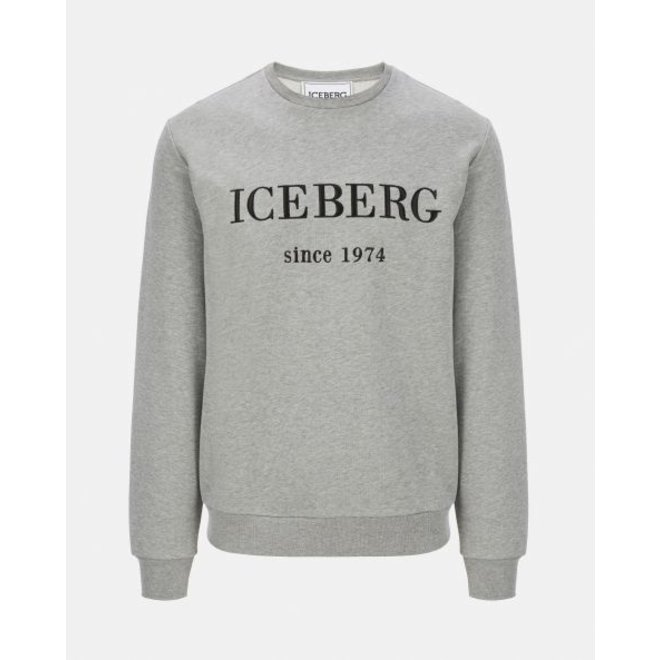 Iceberg | Classic Iceberg Sweater Grey