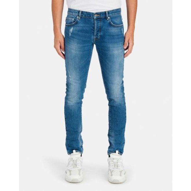 Mid-blue denim skinny jeans   Iceberg