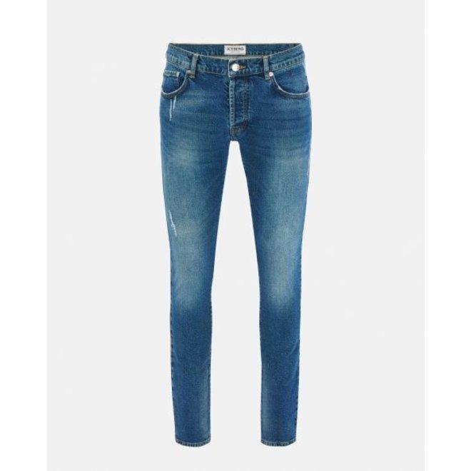 Iceberg   Mid-blue denim skinny jeans