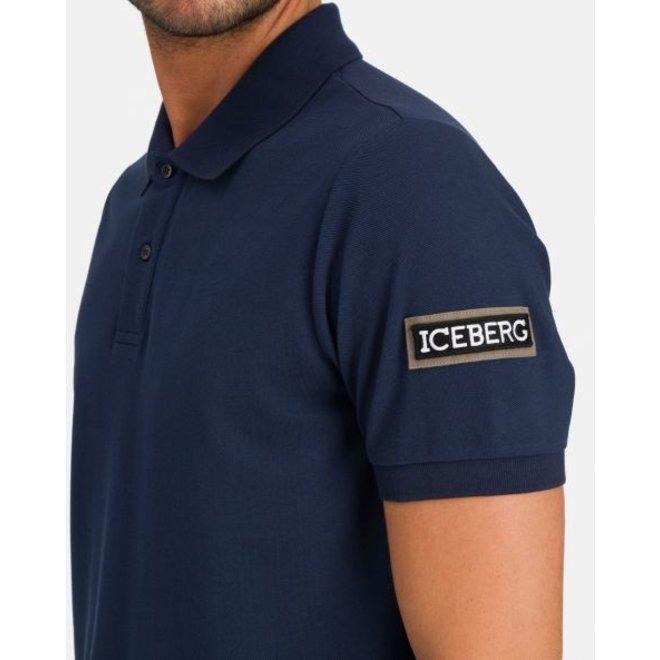 Polo | Donkerblauw | Iceberg