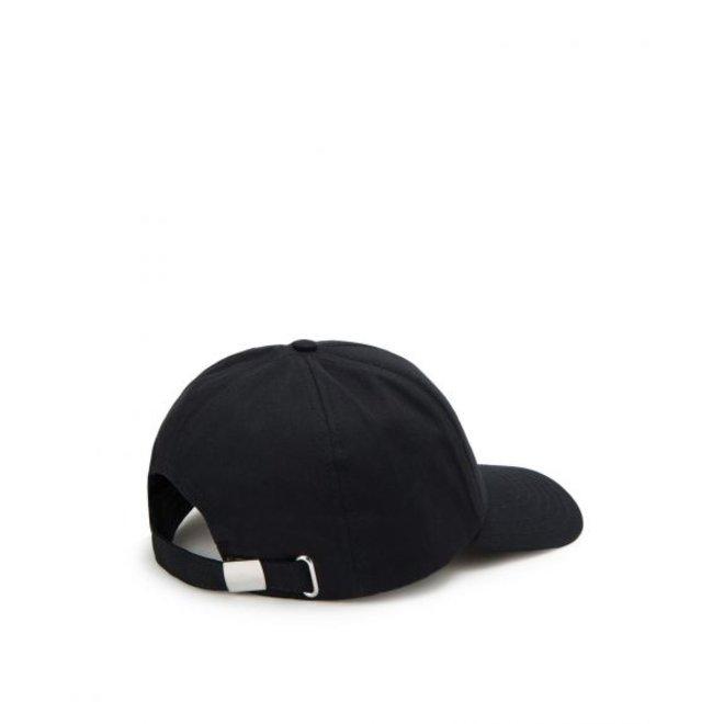 Baseball pet met logo   Zwart en wit   Iceberg