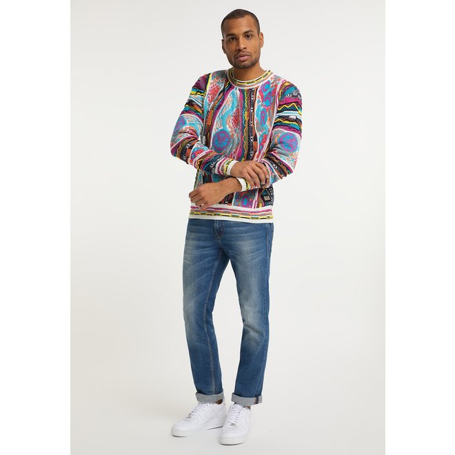 Sweater | Wit | Carlo Colucci | C9805 591
