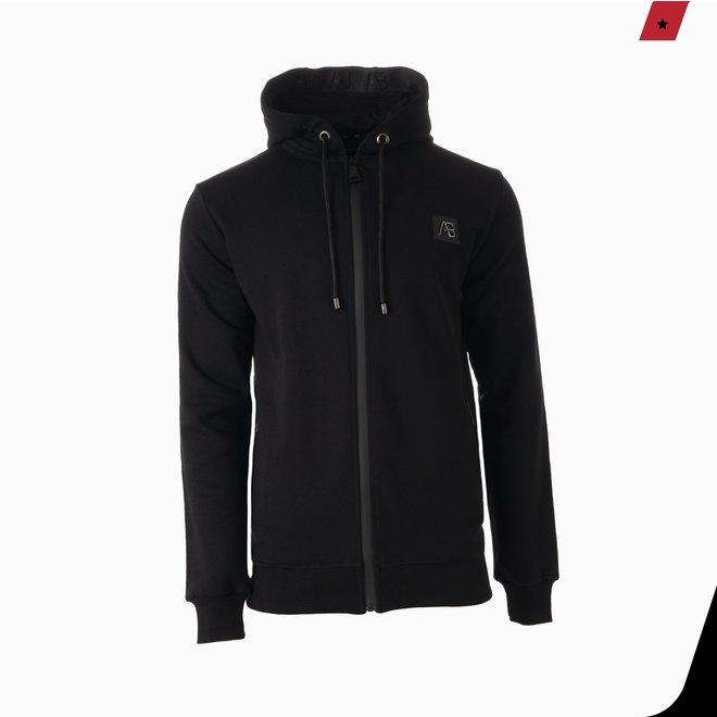 AB Lifestyle | Exclusive Hooded Track Jacket | Phantom Black