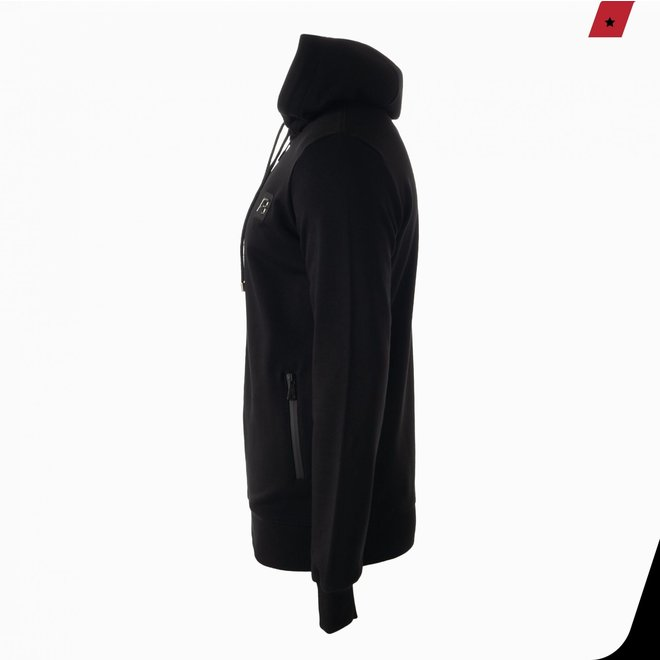 Exclusive hooded track jacket | Zwart | Ab Lifestyle