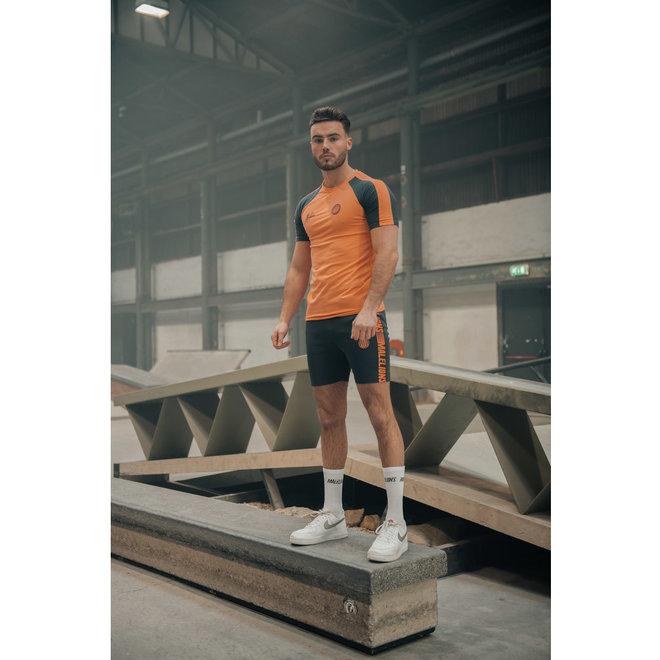 Striker tracksuit set | Donkerblauw / Zalm | Malelions Sport