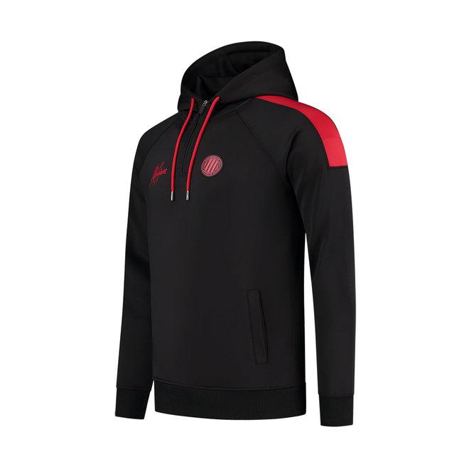 Malelions Sport | Striker Tracksuit | Black / Neon Red