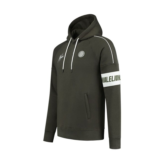 Malelions Sport   Coach Tracksuit   Army  / white