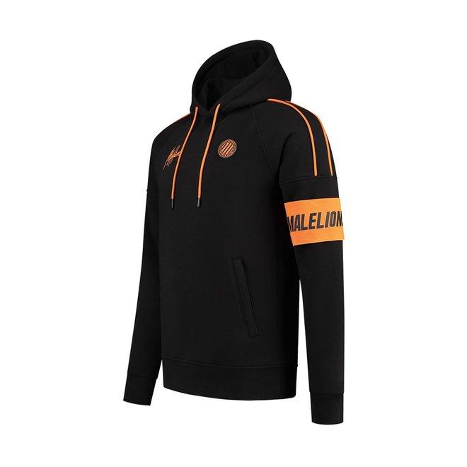 Malelions Sport | Coach Tracksuit | Black / Orange