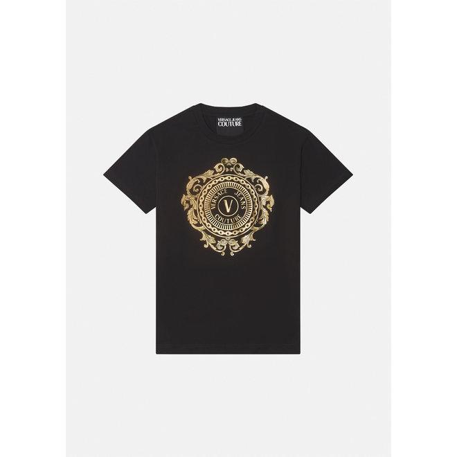 Versace Jeans Couture | T-shirt V-Eblem | Black