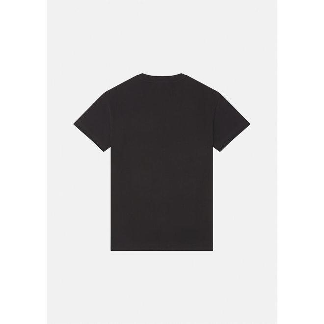 T-shirt | Zwart met Barok print | Versace Jeans Couture