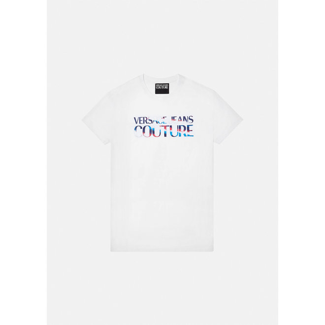 Versace Jeans Couture   Colorful logo t-shirt   White
