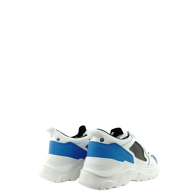 Speedtrack Sneakers | Wit / Blauw | Versace Jeans Couture