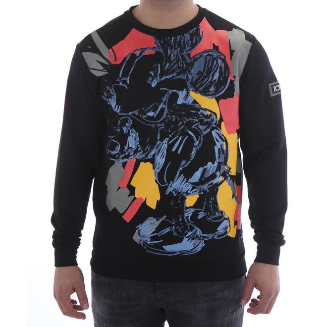 Iceberg | Sweater 'Painted Style' | Black