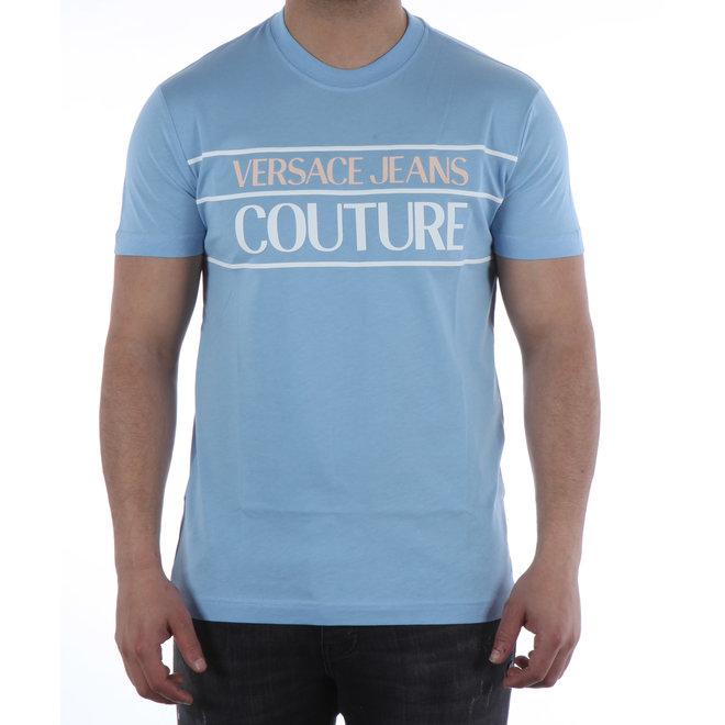 Versace Jeans Couture   Logo t-shirt   Licht blauw