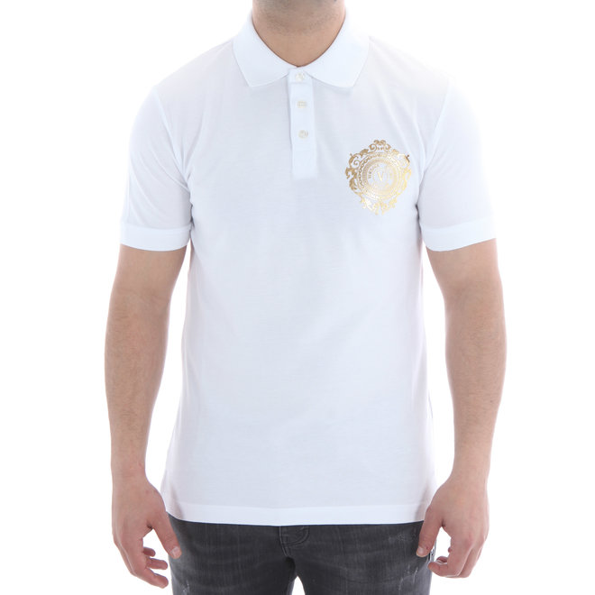 Versace Jeans Couture | Polo | White / Gold