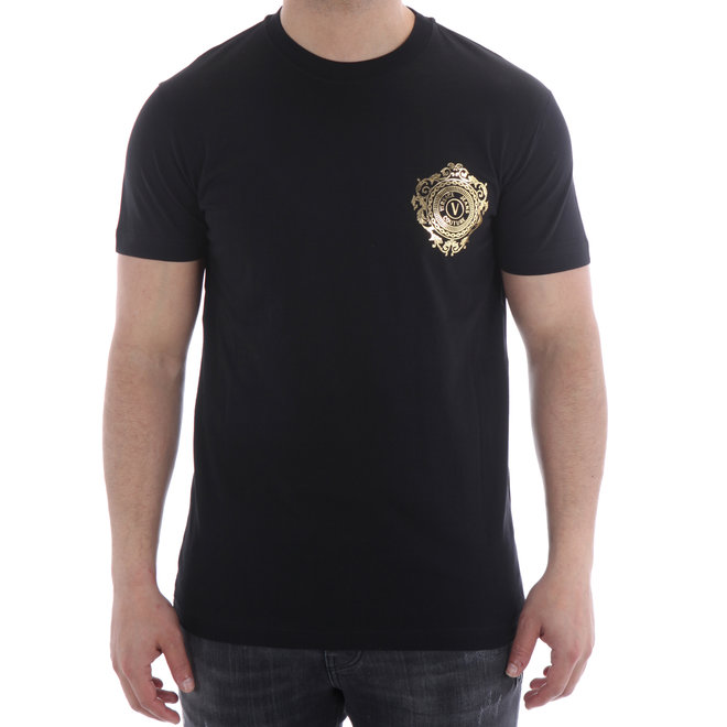Versace Jeans Couture | T-shirt 'Baroque' | Black / Gold