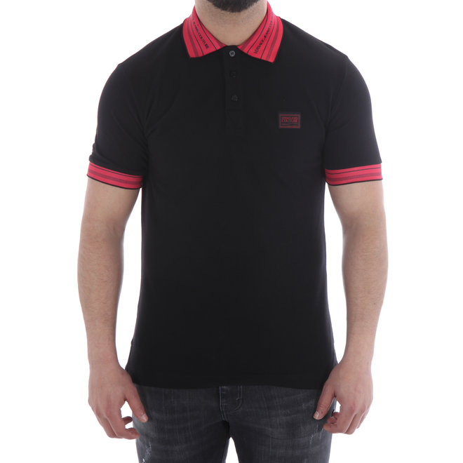 Versace Jeans Couture | Polo | Black / Red