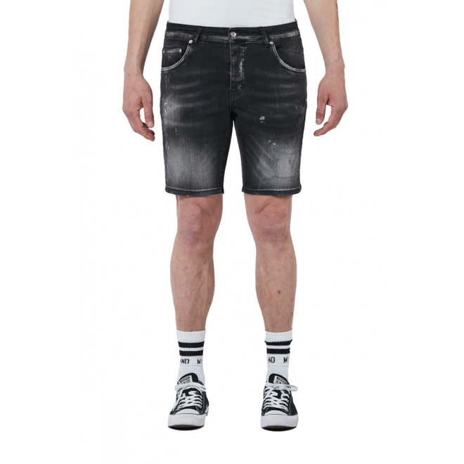 My Brand   Denim Distressed Short   Black