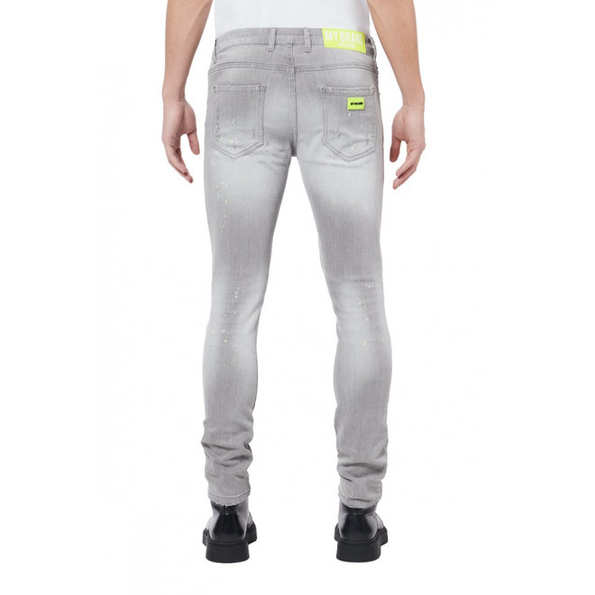 Denim Grey Jeans | Yellow Spotted | My Brand