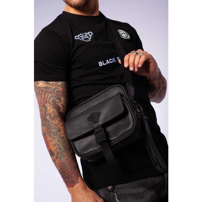 Black Bananas | Shadow Buckle Cross Bag | Black