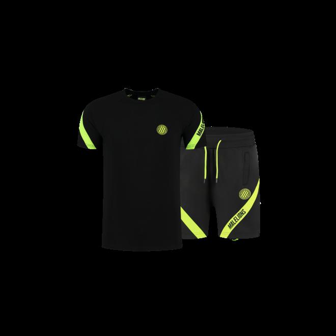 Malelions Sport | Pre-Match set | Black / Neon Yellow