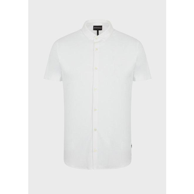 Overhemd met korte mouwen | Wit | Emporio Armani