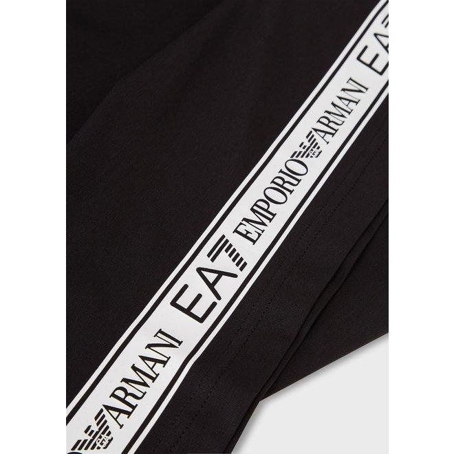 T-shirt met logotape | Zwart | EA7