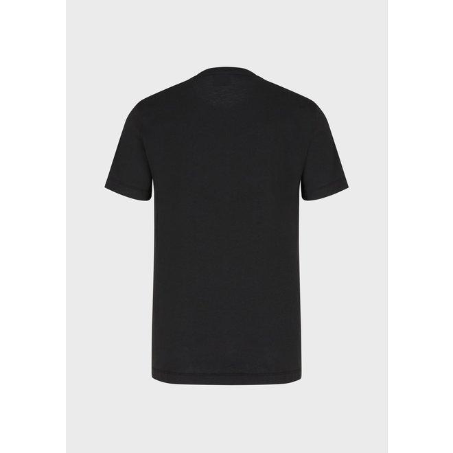 Logo t-shirt | Zwart | EA7
