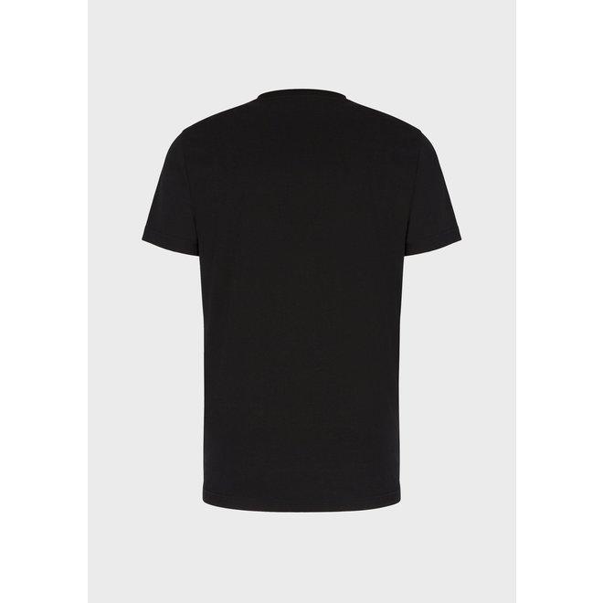Logo t-shirt   Zwart   EA7