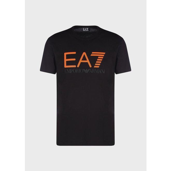 EA7   Logo T-shirt   Zwart