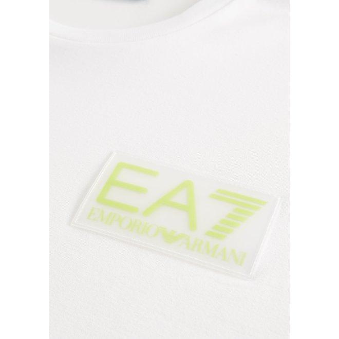 Logo t-shirt | Wit | EA7