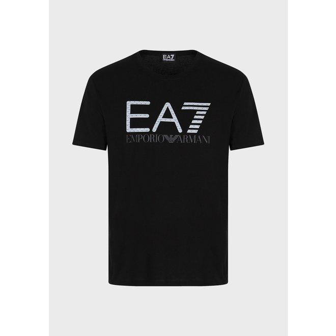 EA7   3D Logo t-shirt   Zwart