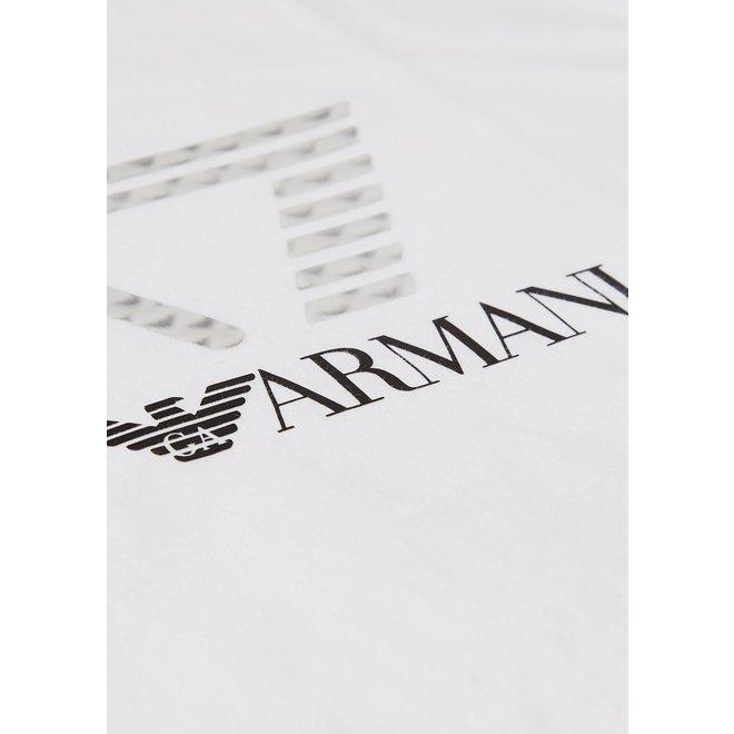 3D Logo Print T-shirt | Wit | EA7