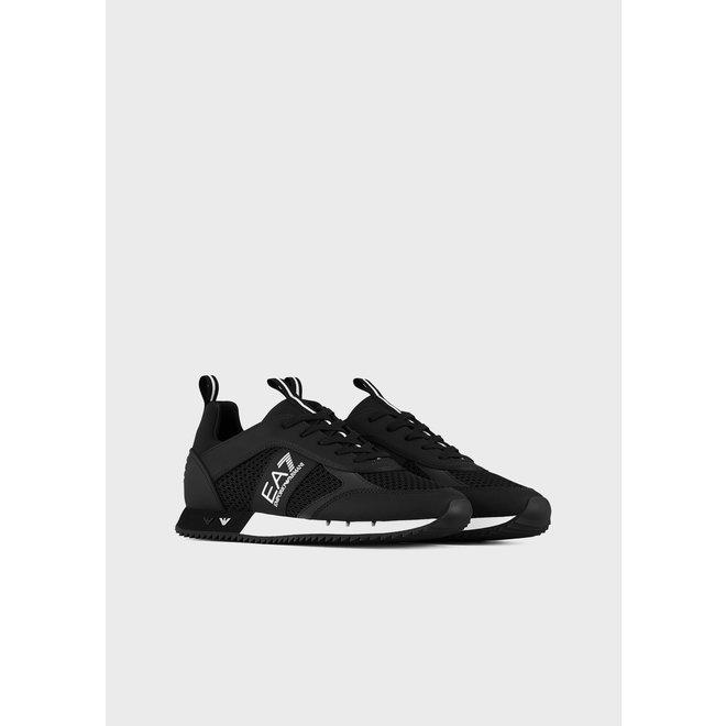 Mesh Sneakers | Zwart / Wit | EA7