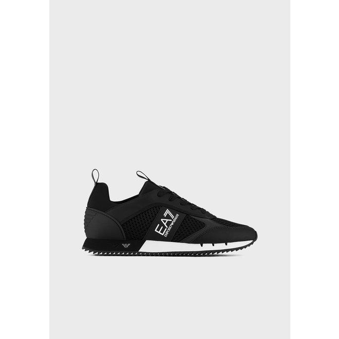 EA7 | Mesh Sneakers | Zwart / Wit