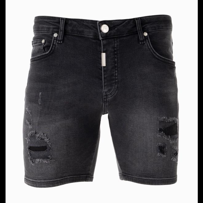 AB Lifestyle   Short Jeans    Black
